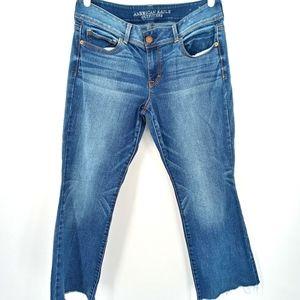 AEO Super Stretch Kick Boot Jeans
